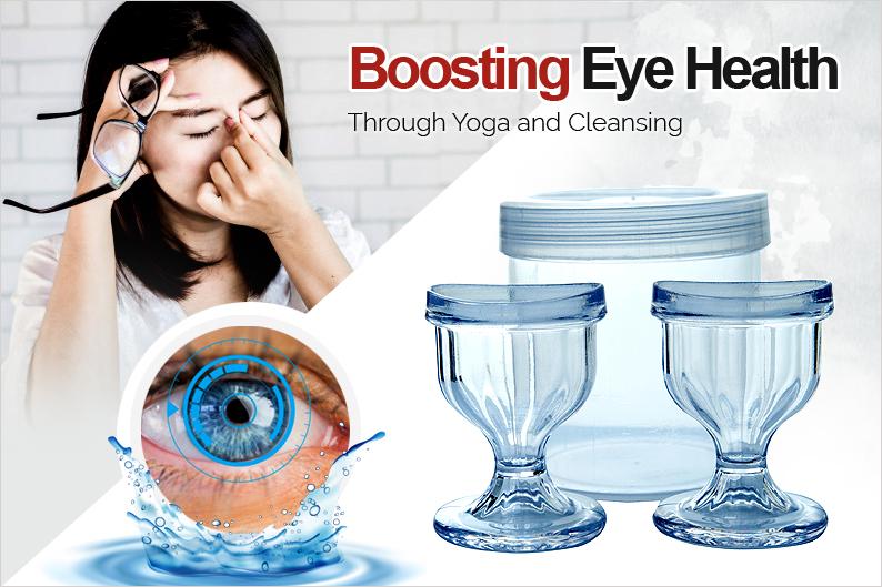 Boosting Eye Health through Yoga and Cleansing