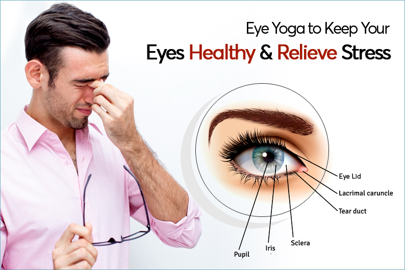 Eye yoga to keep your eyes healthy and relieve stress
