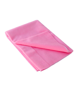 Fabric Coated Breathable Baby Sheet(Pink-Medium)