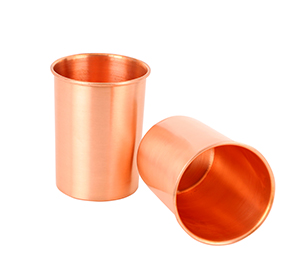 Pure Copper Cups - Set of 2