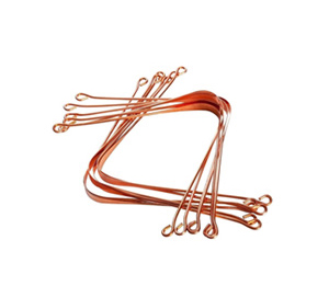 HealthAndYoga Tongue Cleaner Copper 12set