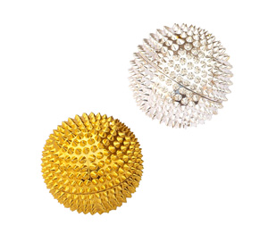 Spike Acupressure Magneto-Therapy Balls - 1 Pair