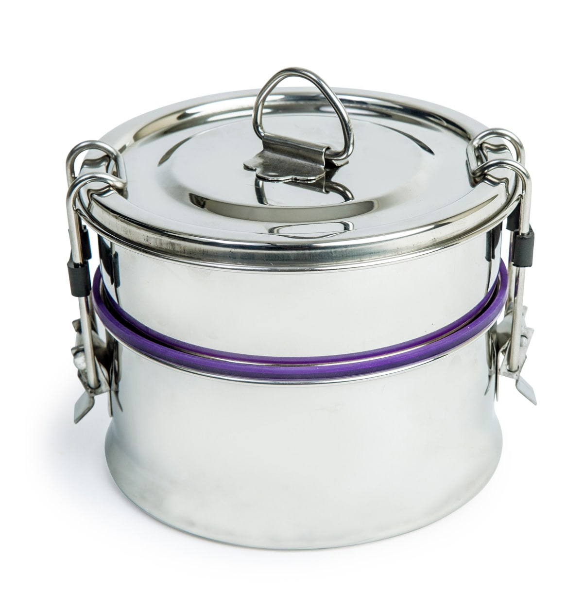 Leak-Proof Double Decker Stainless Steel Lunch Box