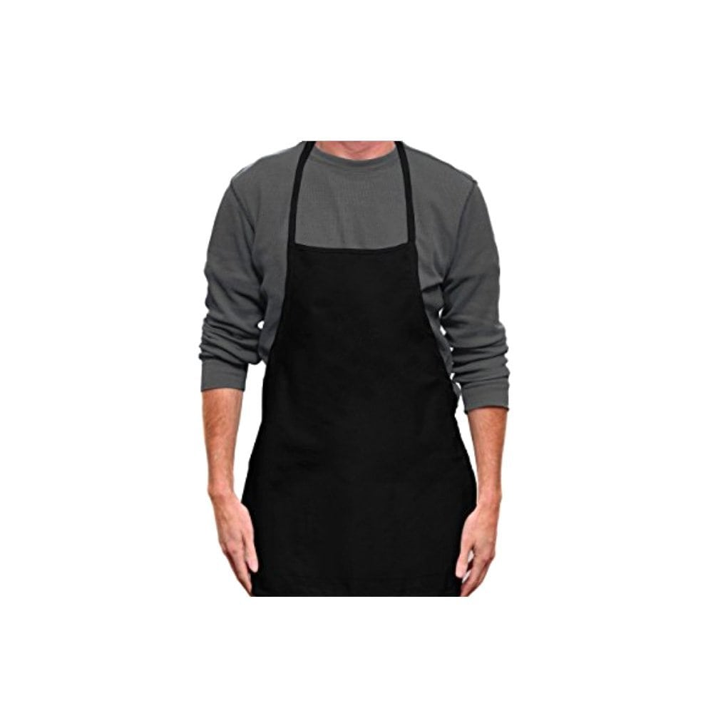 Black Massage Apron for Spa Workers and Masseurs