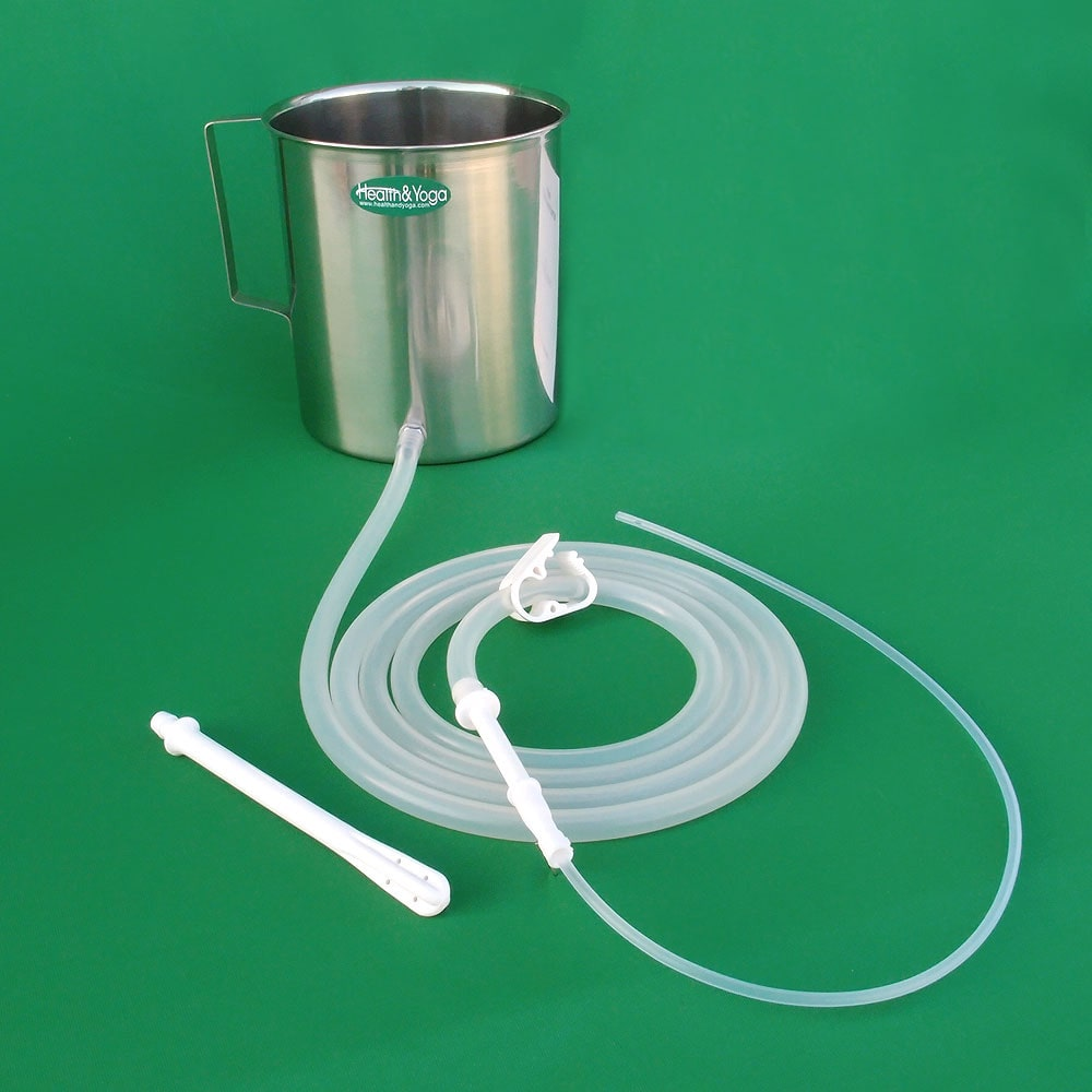 Stainless Enema Kit With Silicone Tubings Wholesale