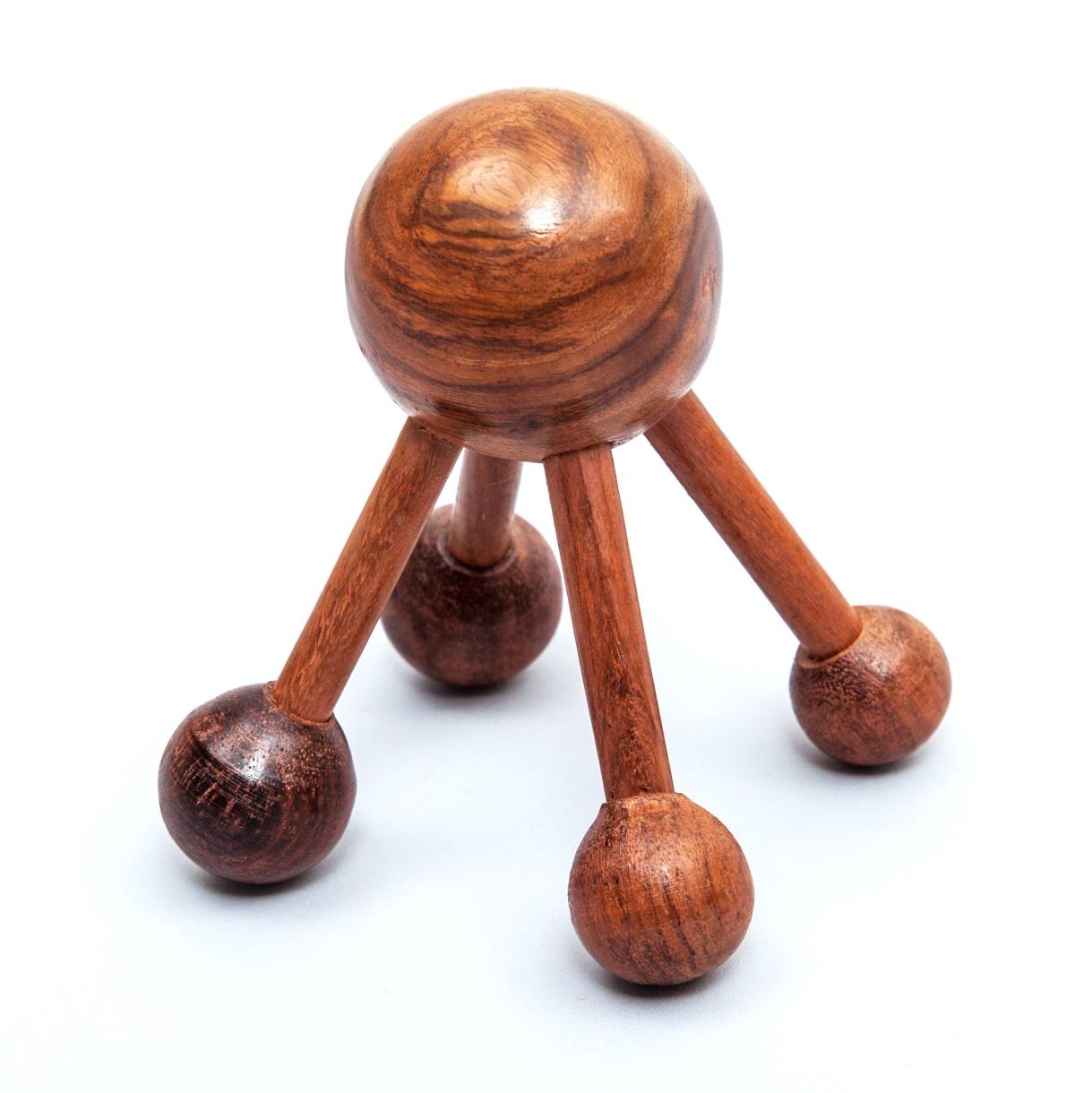 Wooden Acupressure Massager With 5-Knobs