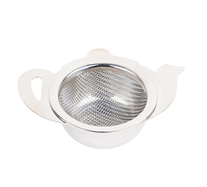 Stainless Steel Tea Strainer with a Utility Cup